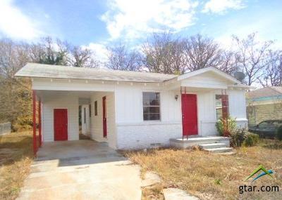 Tyler Single Family Home For Sale: 916 Bennett Ave