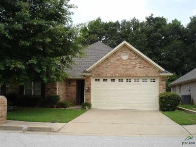 Tyler Single Family Home For Sale: 5806 Hollybrook Dr