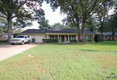 Tyler Single Family Home For Sale: 2014 Roy Rd