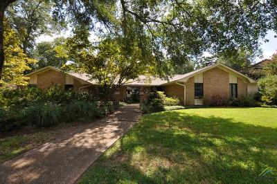 Tyler Single Family Home For Sale: 612 Timberwilde
