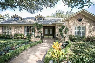 Tyler Single Family Home For Sale: 3600 Wynnwood Dr.