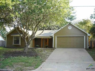 Tyler Single Family Home For Sale: 3305 McDonald Rd