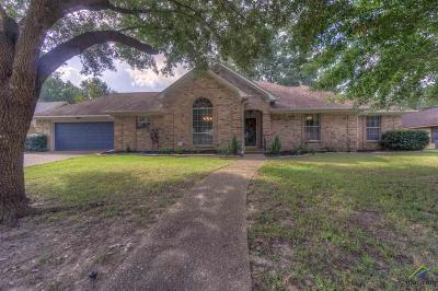 Tyler Single Family Home For Sale: 1621 Willow Bend
