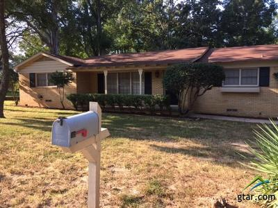 Tyler Single Family Home For Sale: 2515 Sheryl