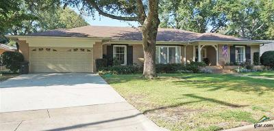 Tyler Single Family Home For Sale: 2006 Sterling Dr.