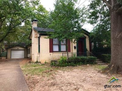 Tyler Single Family Home For Sale: 407 W Dobbs