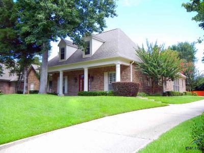 Tyler Single Family Home For Sale: 3823 Woods Blvd