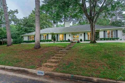 Tyler Single Family Home For Sale: 3334 Heines Drive