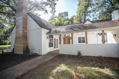 Tyler Single Family Home For Sale: 8311 Yale Drive
