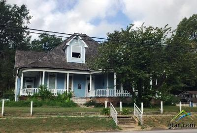 Big Sandy Single Family Home For Sale: 107 N Tyler St