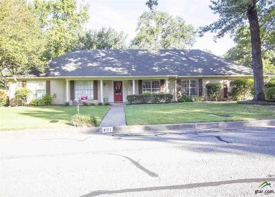 Tyler Single Family Home For Sale: 821 Trenton Dr.