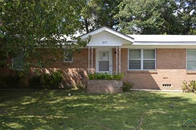 Tyler Single Family Home For Sale: 3817 Jan Ave