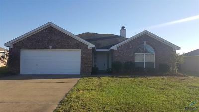 Tyler Single Family Home For Sale: 3323 Acacia Drive