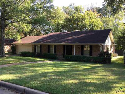 Tyler Single Family Home For Sale: 501 Dr Winchester