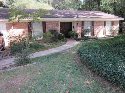 Tyler Single Family Home For Sale: 1824 Pine Crest Dr..