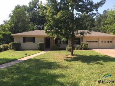 Tyler Single Family Home For Sale: 3006 Tower Dr.