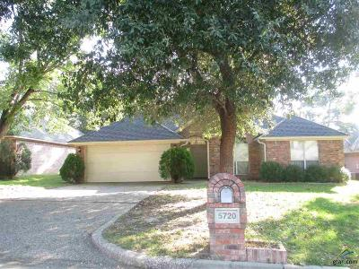 Tyler TX Single Family Home For Sale: $169,900