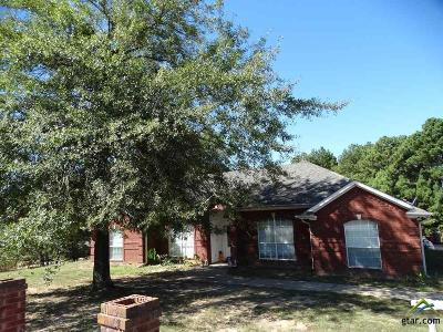Tyler TX Single Family Home For Sale: $125,000