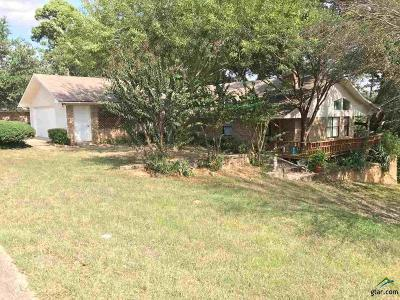 Tyler TX Single Family Home For Sale: $157,500