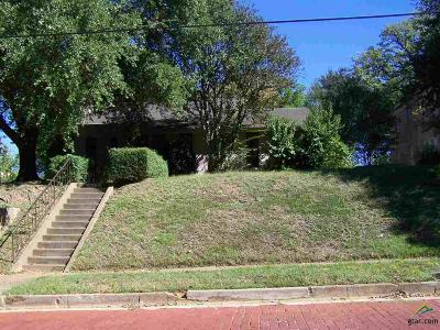 Tyler TX Single Family Home For Sale: $129,500