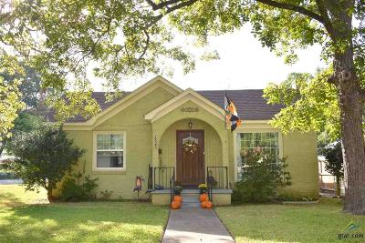 Tyler TX Single Family Home For Sale: $179,900