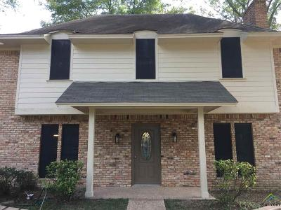 Tyler Single Family Home For Sale: 601 Hampton Hills