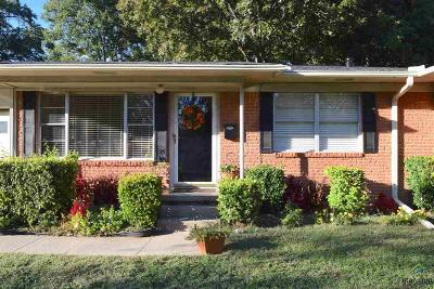Tyler Single Family Home For Sale: 1500 Pettit