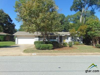 Tyler Single Family Home For Sale: 3028 Rollingwood