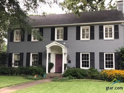 Tyler Single Family Home For Sale: 209 W 7th