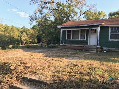 Tyler Single Family Home For Sale: 1718 W Robbins St