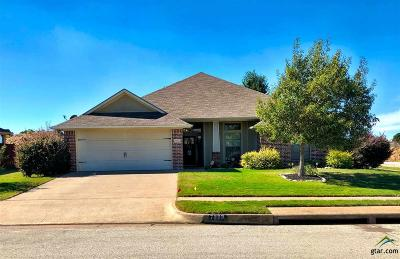Tyler Single Family Home For Sale: 7323 Rockpoint Ln