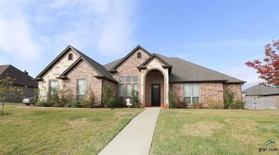 Tyler Single Family Home For Sale: 7613 Cherryhill Drive