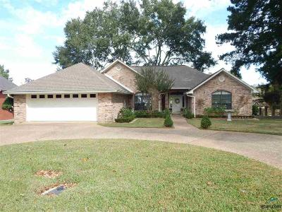 Tyler Single Family Home For Sale: 3208 Lakepine Cr.