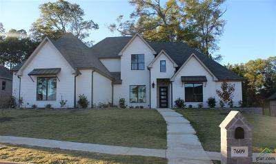 Tyler Single Family Home For Sale: 7609 Timber Trail
