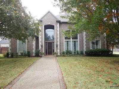 Tyler Single Family Home For Sale: 2213 Woodlands Dr