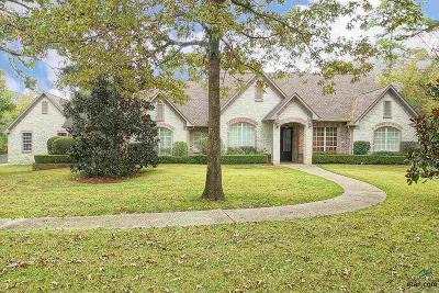 Tyler Single Family Home Contingent - Active: 201 Saddlecreek Drive