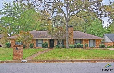 Tyler Single Family Home For Sale: 6110 Wilderness