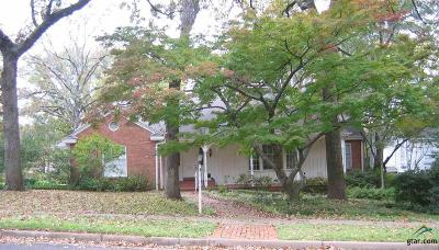 Tyler Single Family Home For Sale: 2627 S. Chilton Ave
