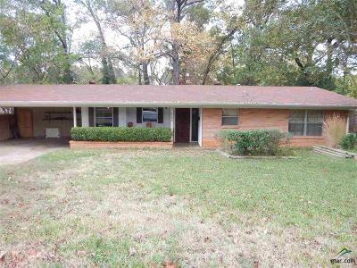 Tyler Single Family Home For Sale: 2028 Woodhaven
