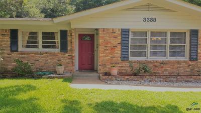 Tyler Single Family Home For Sale: 3333 Lynnwood Dr.