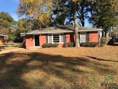 Tyler Single Family Home For Sale: 2326 Elgem