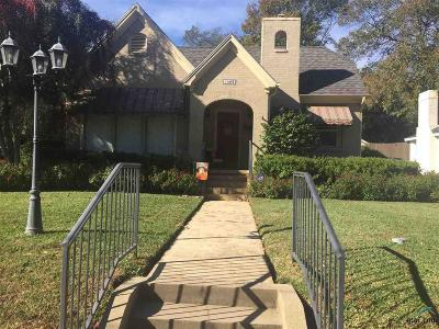 Tyler Single Family Home For Sale: 1405 S Wall