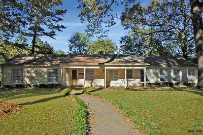 Tyler Single Family Home For Sale: 1227 Dogwood St