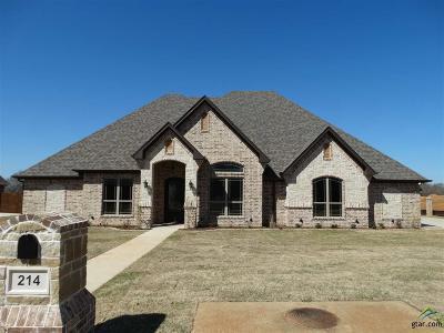 Bullard Single Family Home For Sale: 214 Sunny's Halo