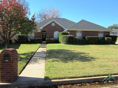 Tyler Single Family Home For Sale: 5803 Persimmon Drive