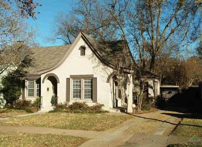 Tyler Single Family Home For Sale: 1114 S. College