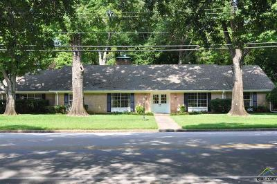 Tyler Single Family Home For Sale: 2917 Sunnybrook Dr.