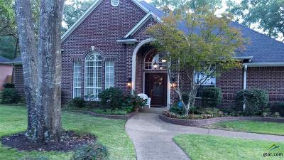 Tyler Single Family Home For Sale: 2006 Pinehurst