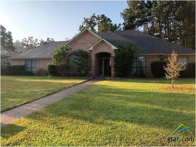 Tyler Single Family Home For Sale: 1601 Tall Timber