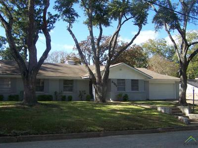 Tyler Single Family Home For Sale: 3301 Brookside